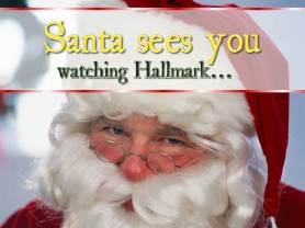 Santa's watching too